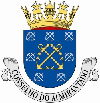 Coat of arms (crest) of the Admirality Council, Portuguese Navy