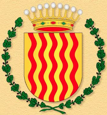 Coat of arms (crest) of the Infantry Regiment Tarragona No 43 (old), Spanish Army