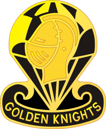 Arms of US Army Parachute Team Golden Knights, US Army