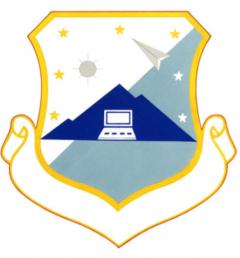 Coat of arms (crest) of the Space & Warning Systems Center, US Air Force
