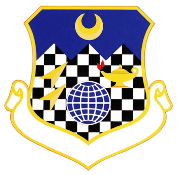 Coat of arms (crest) of the 3490th Technical Training Group, US Air Force