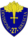 27th Infantry Division Brescia, Italian Army.png