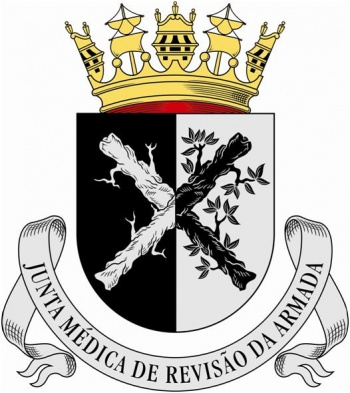 Arms of Naval Medical Review Board, Portuguese Navy