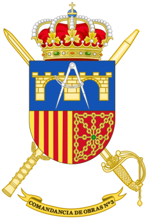 3rd Construction Command, Spanish Army.png