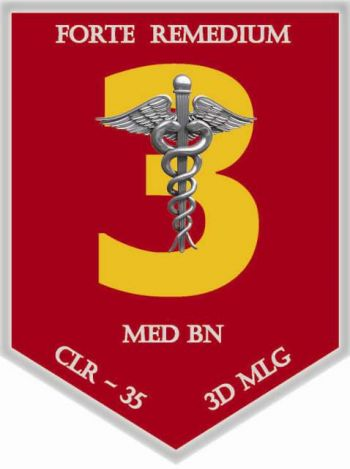 Coat of arms (crest) of the 3rd Medical Battalion, USMC