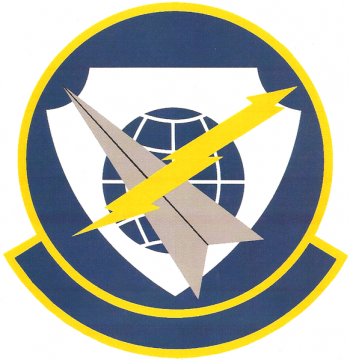 Coat of arms (crest) of the 8th Airborne Command and Control Squadron, US Air Force