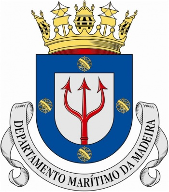 Coat of arms (crest) of the Madeira Maritime Department, Portuguese Navy