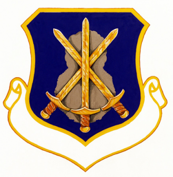 Coat of arms (crest) of the 800th Security Police Group, US Air Force