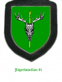 Jaeger Battalion 91, German Army.png