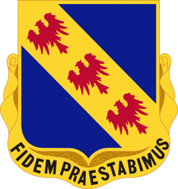 Arms of 355th (Infantry) Regiment, US Army