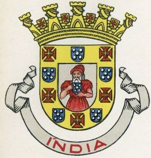 Colonial arms of Portuguese India