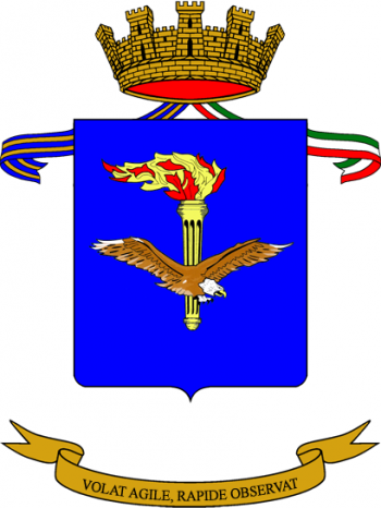 Coat of arms (crest) of the Army Aviation Centre, Italian Army