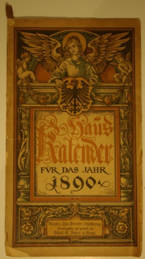 Arms (crest) of Deutscher Haus Kalender