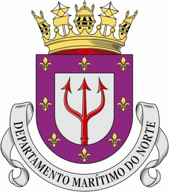 Coat of arms (crest) of the Northern Maritime Department, Portuguese Navy