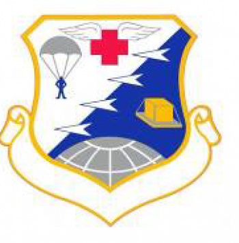 Coat of arms (crest) of the 435th Tactical Airlift Wing, US Air Force
