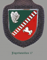 Jaeger Battalion 17, German Army.png