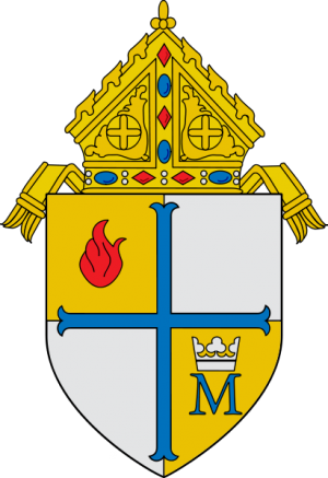 Arms (crest) of Diocese of Metuchen