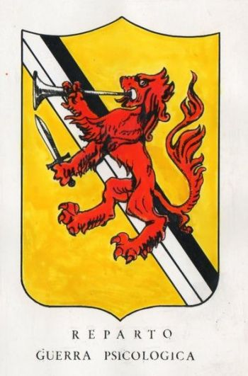 Coat of arms (crest) of the Psychological Warfare Unit, Italian Army