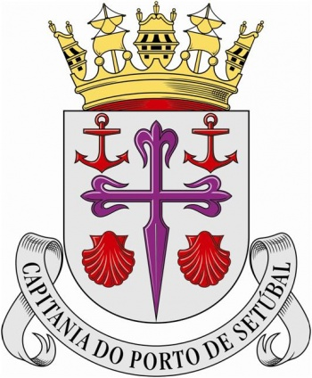 Coat of arms (crest) of the Harbour Captain of Setúbal, Portuguese Navy