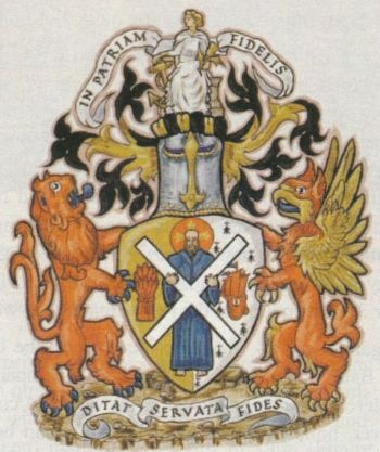 Arms of National Commercial Bank of Scotland