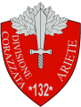 132nd Armoured Division Ariete, Italian Army.png