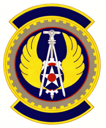 Coat of arms (crest) of the 2851st Civil Engineer Squadron, US Air Force