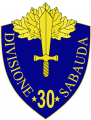30th Infantry Division Sabauda, Italian Army.png