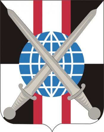 Coat of arms (crest) of the 527th Military Intelligence Battalion, US Army