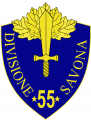 55th Infantry Division Savonna, Italian Army.png