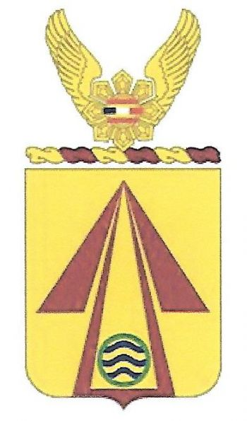 Arms of 71st Transportation Battalion, US Army