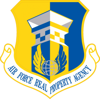 Coat of arms (crest) of the Air Force Real Property Agency, US Air Force