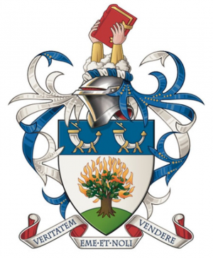Arms (crest) of Union Theological College (Queens University of Belfast)