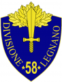 58th Infantry Division Legnano, Italian Army.png