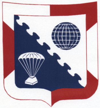 Coat of arms (crest) of the 6th Aerial Port Squadron, US Air Force