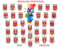 Portuguese heraldry-red