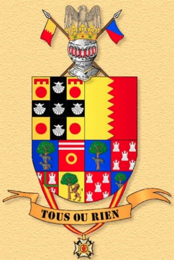 Coat of arms (crest) of the Infantry Regiment El Serra No 69 (old), Spanish Army