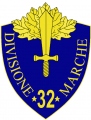 32nd Infantry Division Marche, Italian Army.png