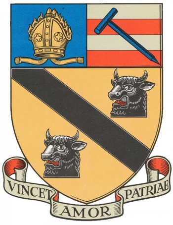 Arms (crest) of Archbishop Holgate's School