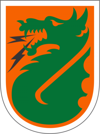 Arms of 5th Signal Command, US Army