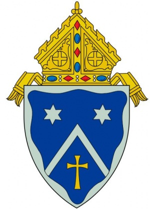 Arms (crest) of Diocese of Gaylord