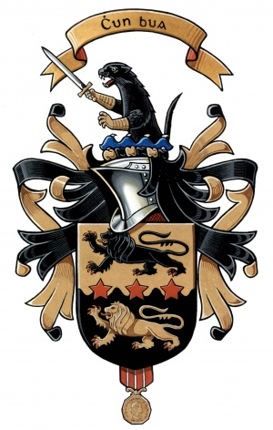 Arms (crest) of James Rourke