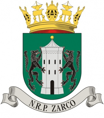 Coat of arms (crest) of the Sail Training Ship NRP Zarco, Portuguese Navy