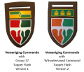 Vereening Commando, South African Army.png
