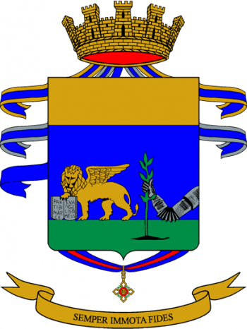 Coat of arms (crest) of the 84th Infantry Regiment Venezia, Italian Army