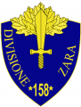 158th Infantry Division Zara, Italian Army.png