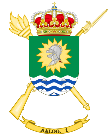 Coat of arms (crest) of the Logistics Support Group 81, Spanish Army