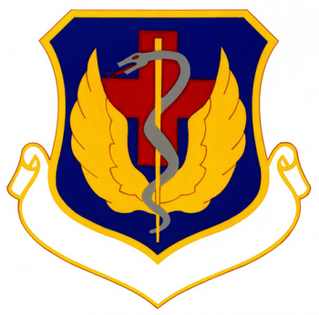 Coat of arms (crest) of the USAF Hospital Torrejon, US Air Force
