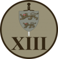 XIII Batallion, Slesvig Foot Regiment, Danish Army.png
