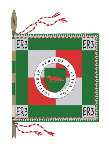 Arms of Radar Station No 3, Portuguese Air Force
