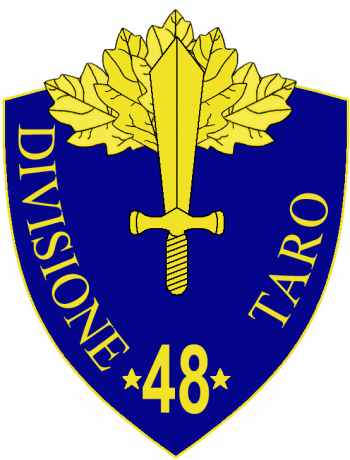 Coat of arms (crest) of the 48th Infantry Division Taro, Italian Army